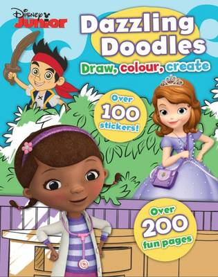 Disney Junior Dazzling Doodles by
