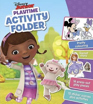 Disney Junior Playtime Activity Folder by