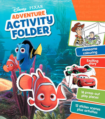 Disney Pixar Adventure Activity Folder by