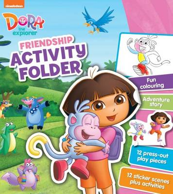 Nickelodeon Dora the Explorer Friendship Activity Folder by