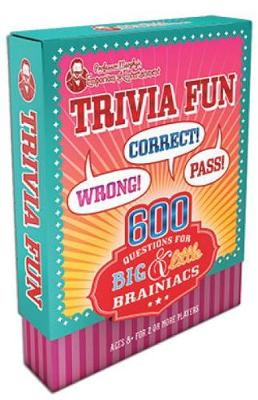 Professor Murphy's Game Cards: Trivia Fun 600 Questions for Big & Little Brainiacs by