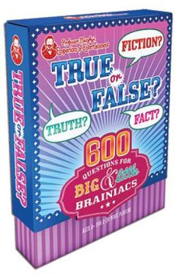 Professor Murphy's Game Cards: True or False? 600 Questions for Big & Little Brainiacs by Parragon Books Ltd