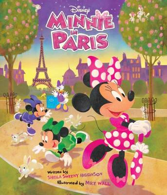 Disney Minnie in Paris by Parragon