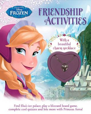 Disney Frozen Friendship Activities With a Beautiful Charm Necklace by