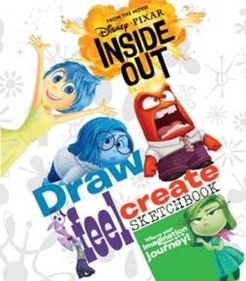 Disney Pixar Inside Out Draw, Feel, Create Sketchbook by
