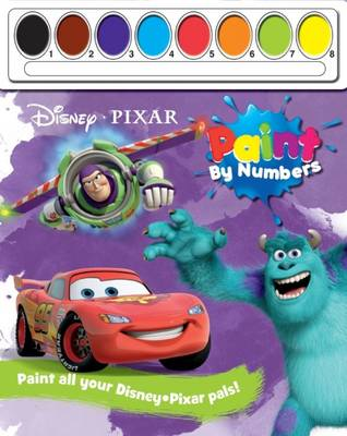 Disney Pixar Paint by Numbers by