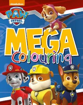 Nickelodeon Paw Patrol Mega Colouring by