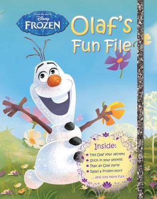 Disney Frozen Olaf's Fun File by