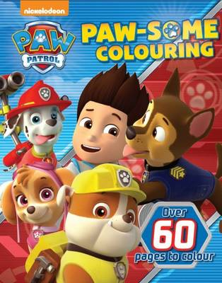 Nickelodeon Paw Patrol Paw-Some Colouring by