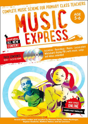 Music Express: Age 5-6 Complete Music Scheme for Primary Class Teachers by Helen MacGregor
