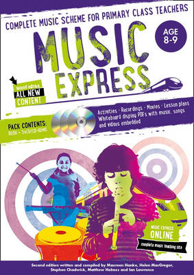 Music Express: Age 8-9: Complete Music Scheme for Primary Class Teachers by Helen MacGregor