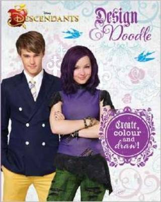 Disney Descendants Draw, Inspire, Create Sketchbook by