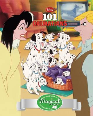 Disney 101 Dalmatians Magical Story with Lenticular by Parragon