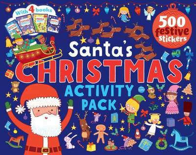 Santa's Christmas Activity Pack by Parragon