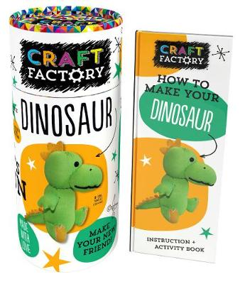 Craft Factory Dinosaur by Parragon Books Ltd