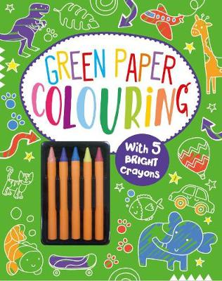 Green Paper Colouring by Parragon Books Ltd