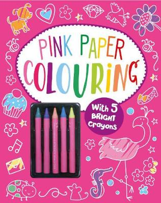 Pink Paper Colouring by