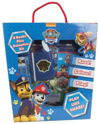 Nickelodeon PAW Patrol 3 Books Plus Detective Kit by