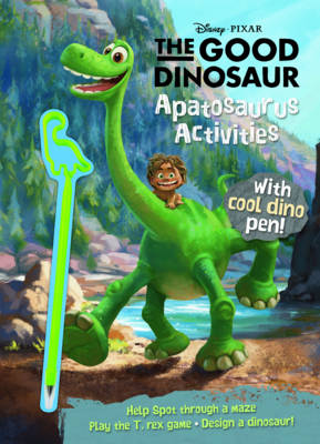 Disney Pixar the Good Dinosaur Apatosaurus Activities with Covermount by Parragon