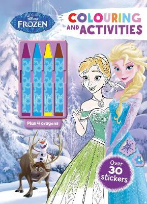 Disney Frozen Colouring and Activities by Parragon Books Ltd