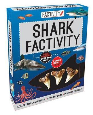 Factivity Shark Factivity Collect the Shark Teeth, Read the Book, Discover the Facts by
