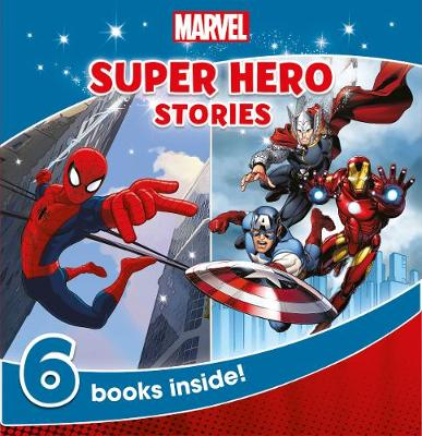 Marvel Super Hero Stories 6 Books Inside! by Parragon Books Ltd