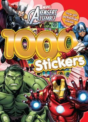 Marvel Avengers Assemble 1000 Stickers Over 60 Activities Inside! by