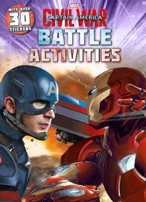 Marvel Captain America Civil War Battle Activities With Over 30 Stickers by