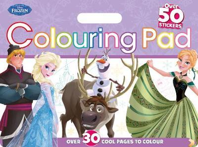 Disney Frozen Colouring Floor Pad by Parragon Books Ltd