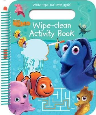 Disney Pixar Finding Nemo Wipe-Clean Activity Book Write, Wipe and Write Again! by