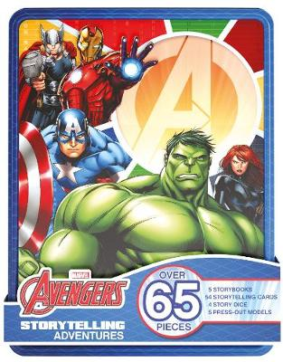 Marvel Avengers Storytelling Adventures Over 65 Pieces by