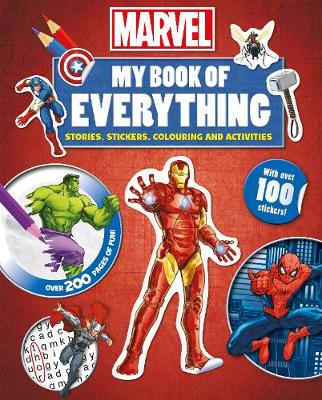 Marvel My Book of Everything Stories, Stickers, Colouring and Activities by