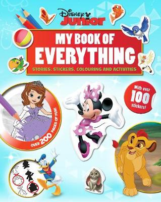 Disney Junior My Book of Everything Stories, Stickers, Colouring and Activities by
