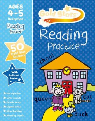 Gold Stars Reading Practice Ages 4-5 Reception by Nina Filipek, Geraldine Taylor