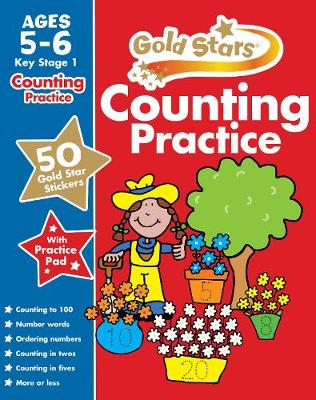 Gold Stars Counting Practice Ages 5-6 Key Stage 1 by Nina Filipek, Frances Mackay