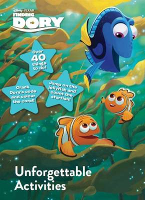 Disney Pixar Finding Dory Unforgettable Activities by Parragon Books