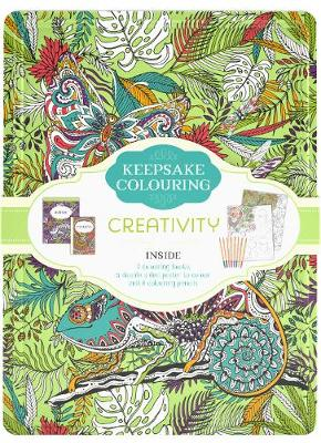 Keepsake Colouring Creativity by Parragon Books Ltd