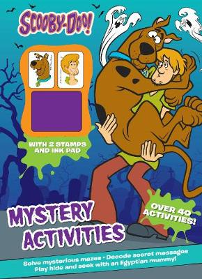 Scooby-Doo Mystery Activities with 2 Stamps and Ink Pad by
