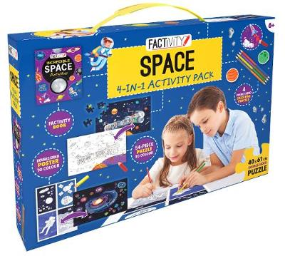 Factivity Space 4-in-1 Activity Pack by Various
