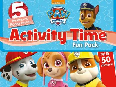Nickelodeon PAW Patrol Activity Time Fun Pack 5 Awesome Books Inside by