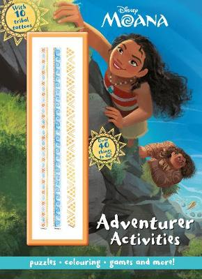 Disney Moana Adventurer Activities with 10 Tribal Tattoos by