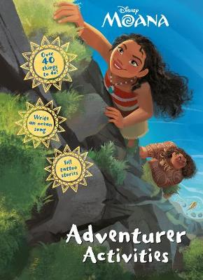 Disney Moana Adventurer Activities by