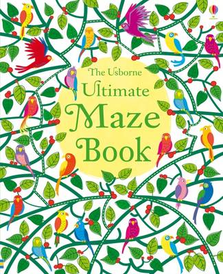 Ultimate Maze Book by Kirsteen Robson, Phillip Clarke