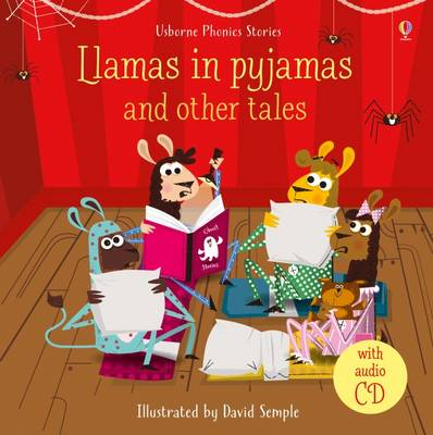 Llamas in Pyjamas and Other Tales With CD by Lesley Sims