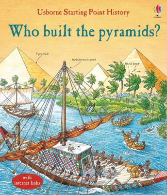 Who Built the Pyramids? by Jane Chisholm, Struan Reid