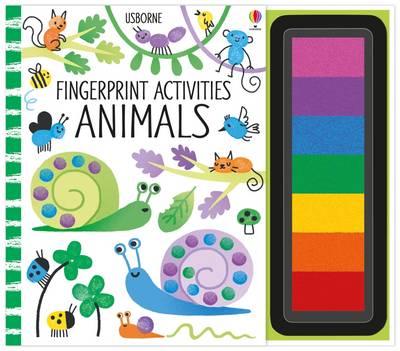 Fingerprint Activities: Animals by Fiona Watt
