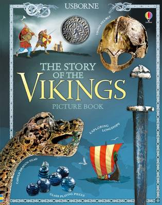 The Story of the Vikings Picture Book by Megan Cullis