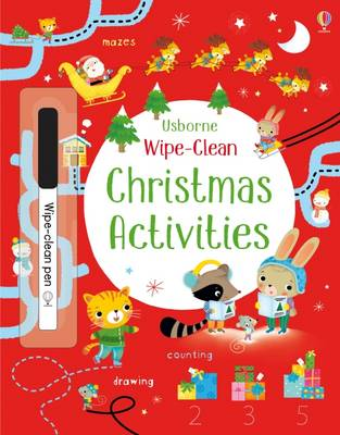Wipe-Clean Christmas Activities by Kirsteen Robson