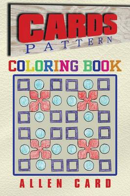 Cards Pattern Coloring Book by Allen Card