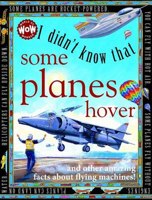 I Didn't Know That...Some Planes Hover by Kate Petty
